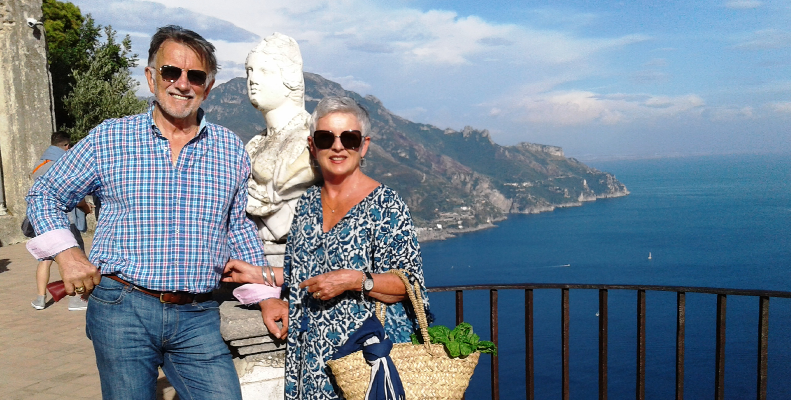 Travel Italy hosts Susan and John